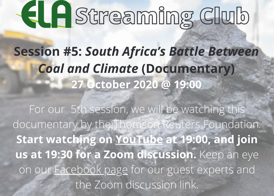 South Africa's Battle Between Coal and Climate